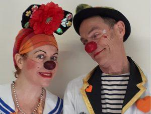 Clowns Théodora à Raymond Poi,caré APCH
