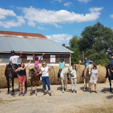 Séjour de thérapie par le cheval – IEM Le Château de Bailly, Bailly