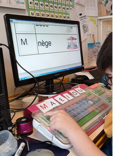 C'est le bonheur sur les ordinateurs – IEM Michel Arthuis, Neuilly