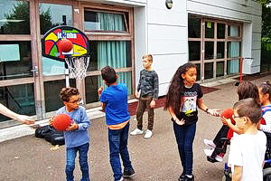 Equipement de paniers de basket – Ecole primaire EREA Toulouse-Lautrec, Vaucresson