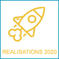 La réalisation des 19 projets 2020 a été perturbée par le Covid
