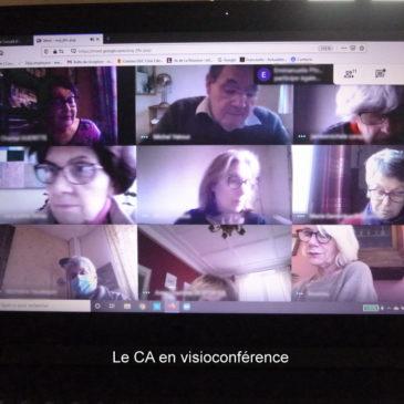Réunion du Conseil d'Administration en visioconférence le 14 décembre 2020